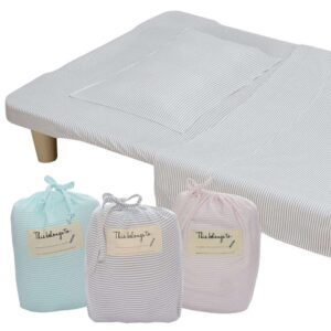 Living Textiles 9671857 Childcare Stacking Bed Sheet Set 0