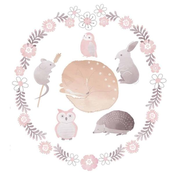 Lolli Living 2619976 Removable Wall Decals Forest Friends 0