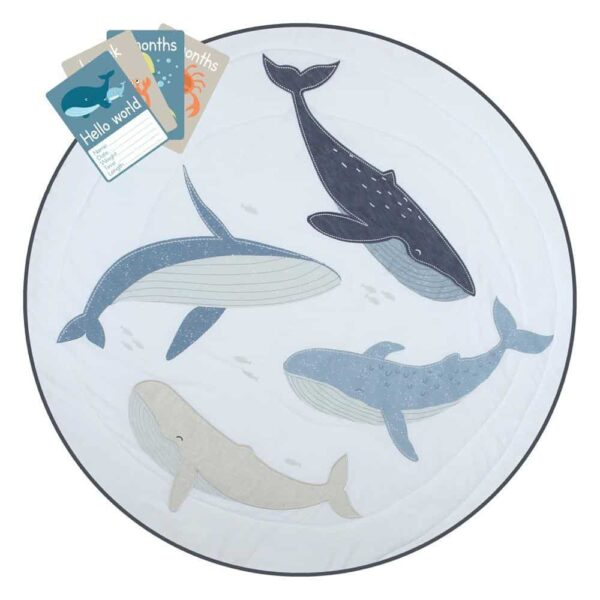 Lolli Living 3024048 Play Mat With Milestone Cards Oceania 0