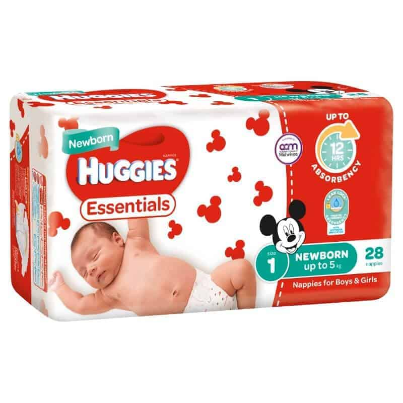 Huggies-essentials-newborn-nappies-unisex-size-1-newborn-up-to-5kg-28-nappies-0