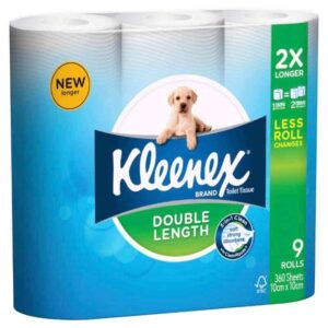 Kleenex-double-length-toilet-tissue-360-sheets-9-pack-0