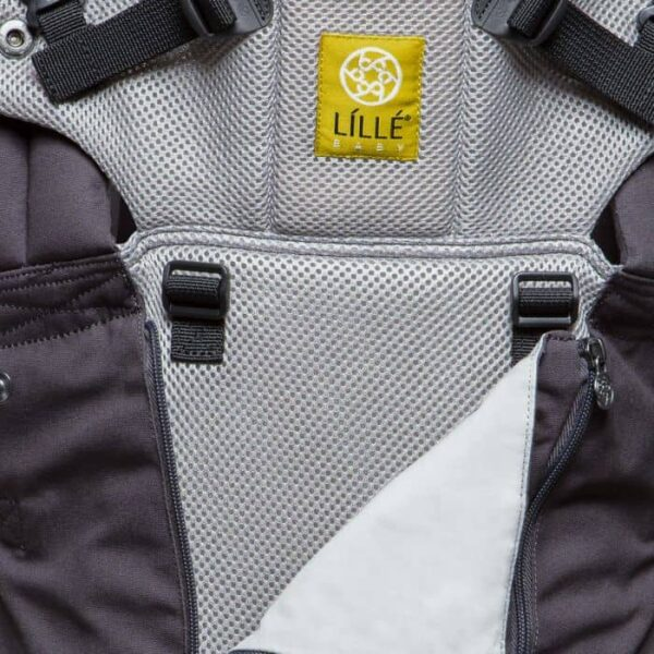 Lillebaby-complete-all-seasons-charcoal-silver-front-detail