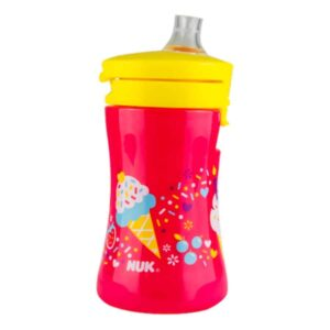 Nuk-1-piece-cup-red