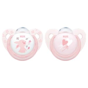 Nuk-baby-rose-blue-silicone-soother-rose
