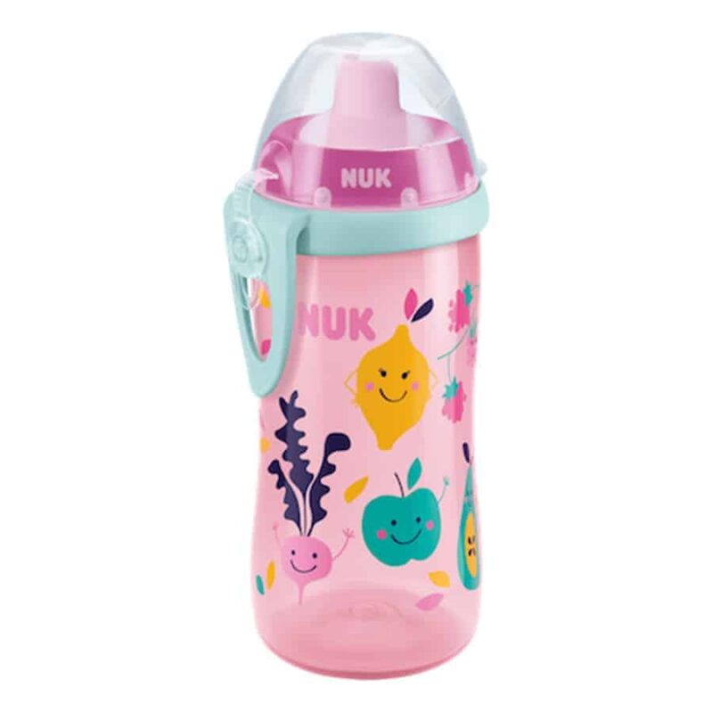 Nuk-flexi-cup-300ml-with-straw-pink