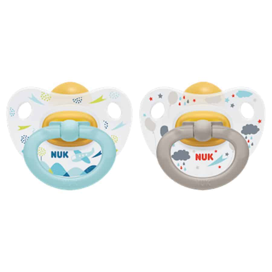 Nuk-happy-kids-latex-soother-blue