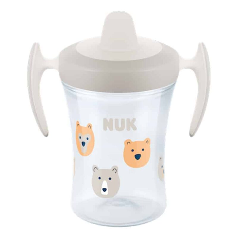 Nuk-trainer-cup-230ml-with-spout-whtie