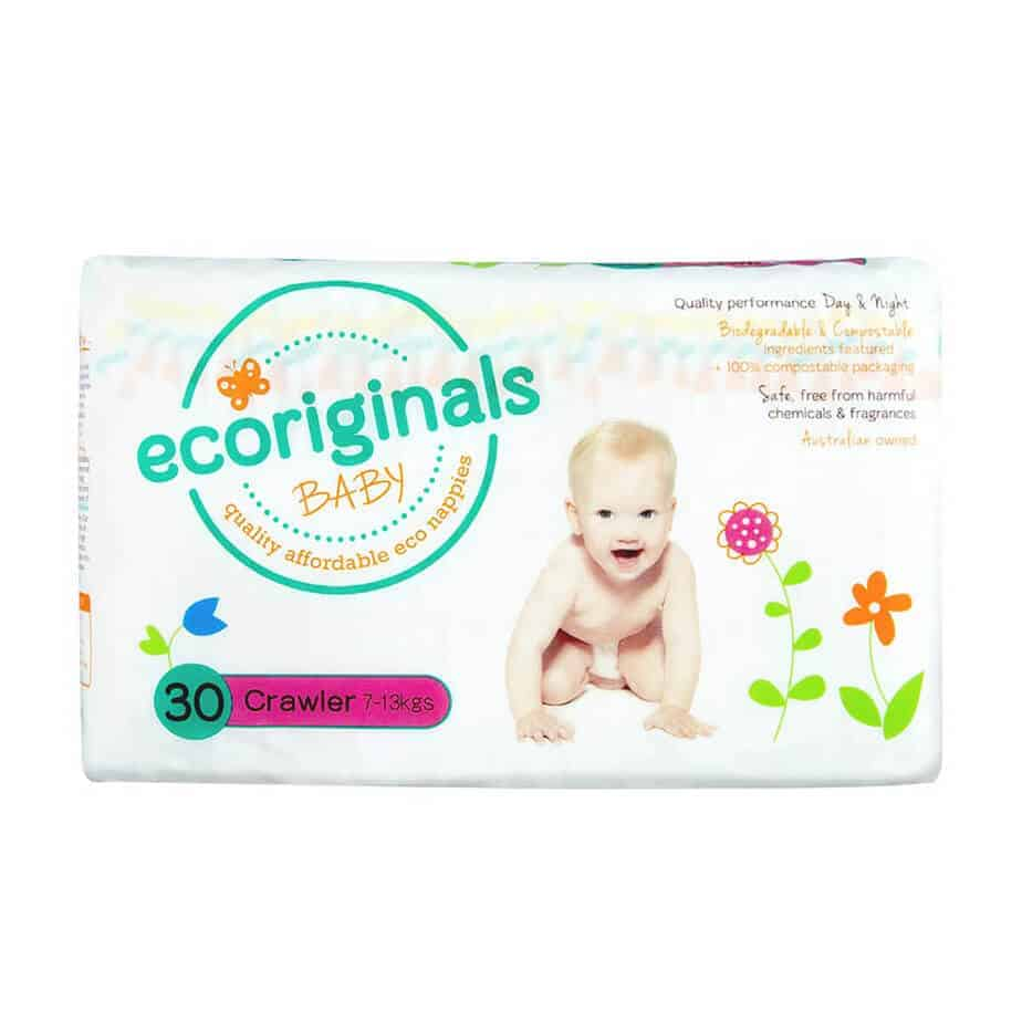 Ecoriginal Bio Nappies Stage 3 (Crawler 7-13 kg) - 30 Nappies-0