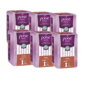Poise Pads Extra 12s - Shipper-0