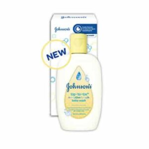 Johnson's Top-to-Toe Sensitive Touch Wash 200mL-0
