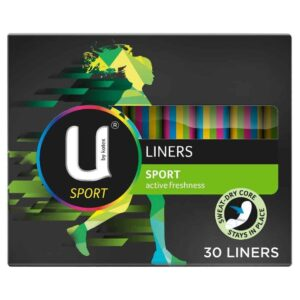 U By Kotex Sport Liners Active Freshness 30pk-2083
