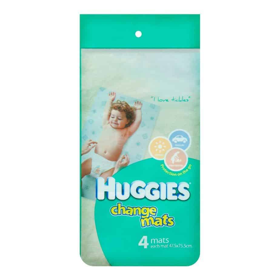 Huggies Disposable Change Mats 4s-1856