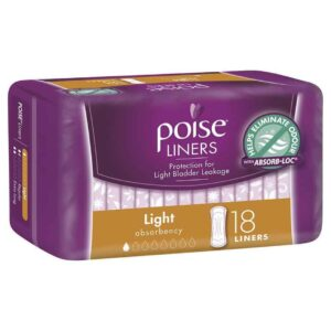 Poise Liners Light 18s-0