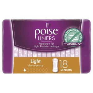 Poise Liners Light 18s-1983