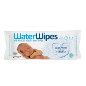 Waterwipes for Baby (60 Wipes)-0