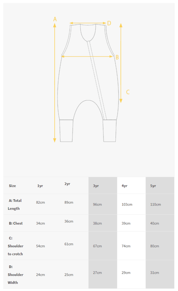 Size-chart-woolbabe-sleeping-suit